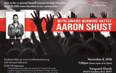 Aaron Shust Benefit Concert